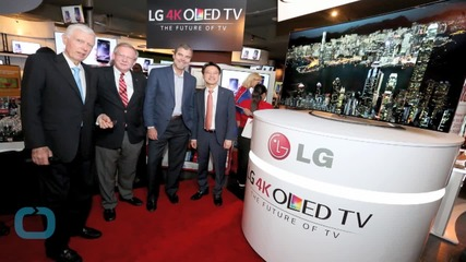 Fixed on the Future LG Unveils Ultra Thin TV That Can Stick to Walls