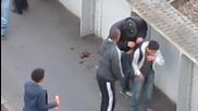 Безсърдечен грабеж по време на размириците в Лондон