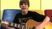 На френски! Justin Bieber - One less lonely girl
