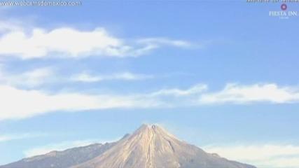 Ново силно изригване на вулкана Колима