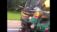Ето как се кара камион в Русия