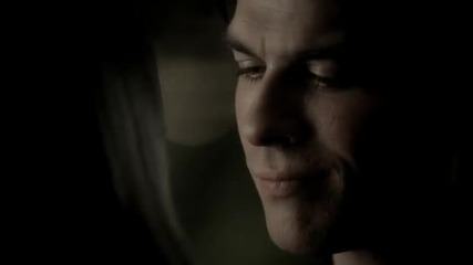 The Vampire Diaries 03x10 - The New Deal - Damon and Elena kiss