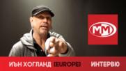 """Тома пита Иън Хогланд, барабаниста на EUROPE, дали """"Рока е мъртъв...?"""""""