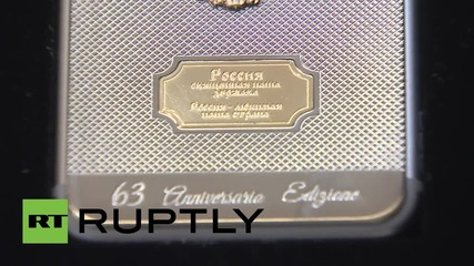 Russia: Limited edition gold iPhone 6s released to celebrate Putin's birthday