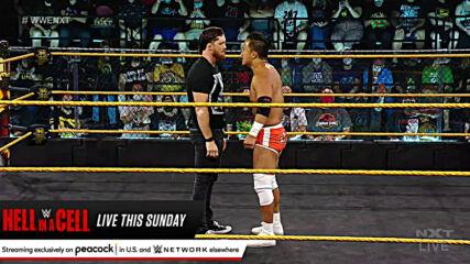 Kushida vs. Trey Baxter – NXT Cruiserweight Title Match: WWE NXT, June 15, 2021