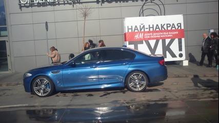 Най-новото Bmw M5 F10 в София !!!
