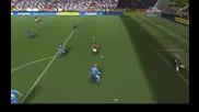 Гол на Христо Стоичков в първата минута на Fifa08