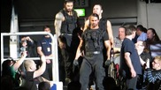 The Shield Entrance at the Wrestlemania Revenge Tour in Mannheim 2013