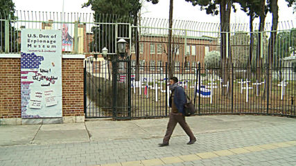 Iran: 'Cemetery' of American, Israeli soldiers installed at former US embassy