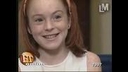 Lindsay Lohan В Едно Предаване!