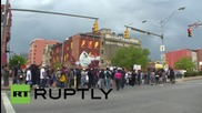 USA: Protests sweep Baltimore for fourth day running