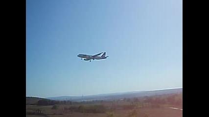 Air Via A320 @ Varna Airport