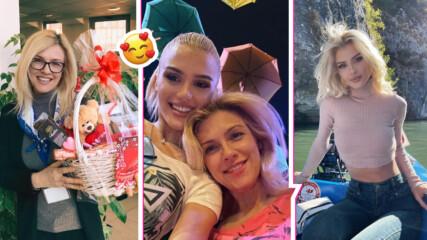 Като две капки вода! Майката на Лидия празнува рожден ден, а двете са като сестри!
