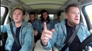 One Direction - Carpool Karaoke с James Corden