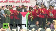 State of Palestine: Ramallah march marks Al Nakba ahead of 'catastrophe' commemorations