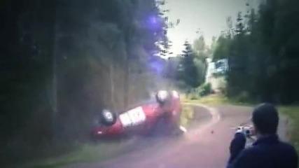 Crazy Finns Crashing - with pure crashing sounds