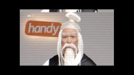 Нокиа C3 Кунгфу - handy реклама