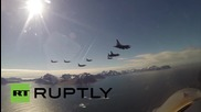 Norway: Nordic military jets continue to train in 'Arctic Challenge' drills