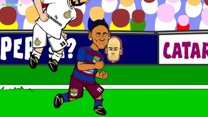 Реал Мадрид - Барселона 0:4 (пародия)