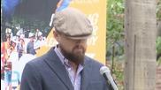 Leonardo DiCaprio And Mark Ruffalo Campaign For Clean Energy