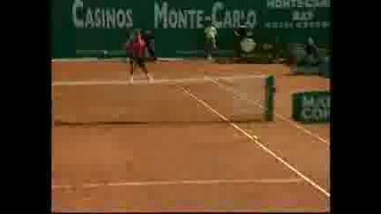 Federer Vs. Nadal Montecarlo 2005 Final
