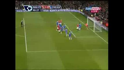 Manchester United /3:0/ Chelsea - Vidic 1:0