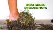 Behind the INSTA-shoe photographer: DIY Grass sandals