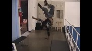 One night capoeira at the gym