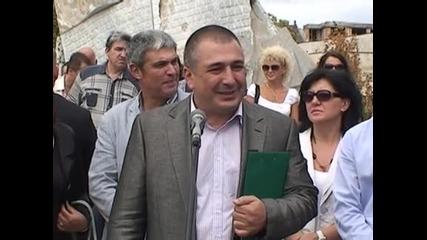 Бойко Борисов и Делян Добрев обещаха инвестиции и нови работни места в Кърджали