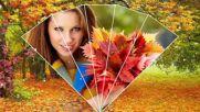 Бесплатно - Осенняя женщина словно светится