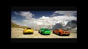 Lamborghine Gilardo Aston Martin I Porshe