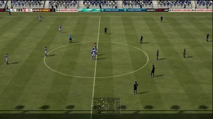 Fifa 12 Най-бързият гол във Фифа 2.7 сек.