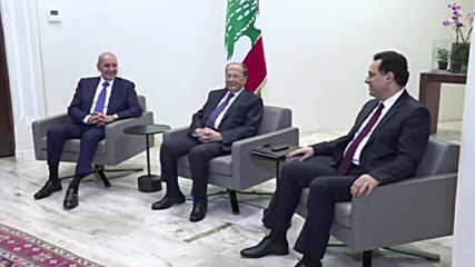 Lebanon: 'Time to act' - PM Diab presents new government to President Aoun