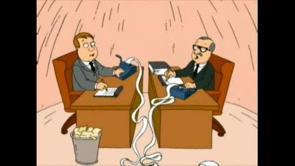 Family Guy - Петър Спи На Масата