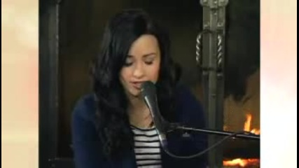 Demi Lovato - Make A Wave (acoustic Performance on Emhe)