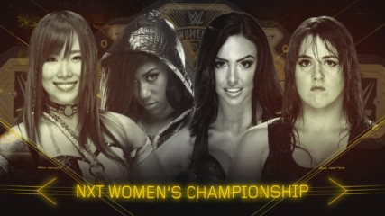 A new NXT Women's Champion will be crowned at NXT TakeOver: WarGames