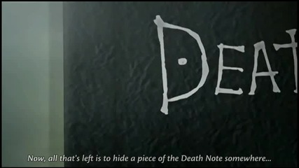 Death Note Епизод 8 част 1/2 English Subbed