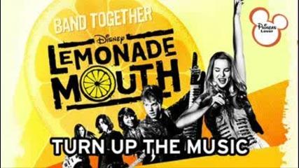 full song lemonade mouth - turn up the music