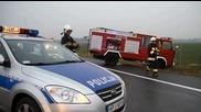 Пожарникари забравили да дръпнат ръчната