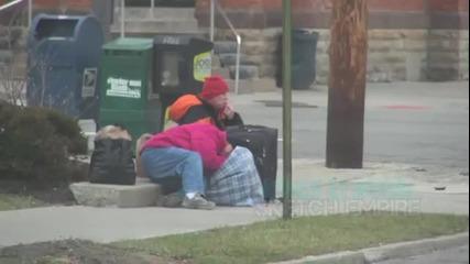 Пица за бездомни агенти под прикритие