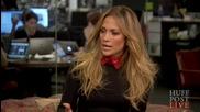Jennifer Lopez interview with Arianna Huffington - True love book