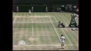 Pete Sampras vs Boris Becker. 1995 Wimbledon Final