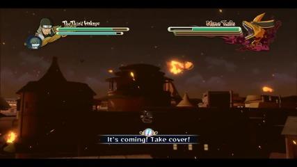 Naruto Shippuden Ultimate Ninja storm 3 Gameplay - The Third Hokage vs Kyobi