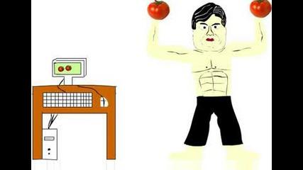 Машината бог - Поля е домат