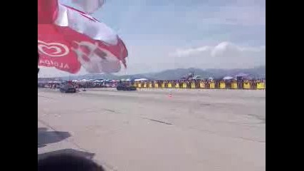 Audi S2 vs Nissan Gt-r Drag racing Сливен 2013