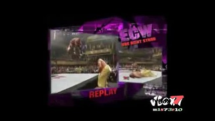 Ecw One Night Stand 2006 - Rey Mysterio vs Sabu ( World Heavyweight Championship ) Extreme Rules