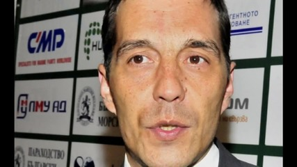Ангел Петричев на заминаване за Сърбия