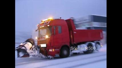 Norway snow plowing