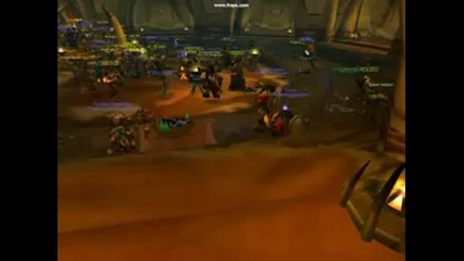 World of Warcraft 700 vs Horde Biggest Oggrimar Raid