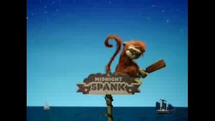Анимация-Загоряла маймуна